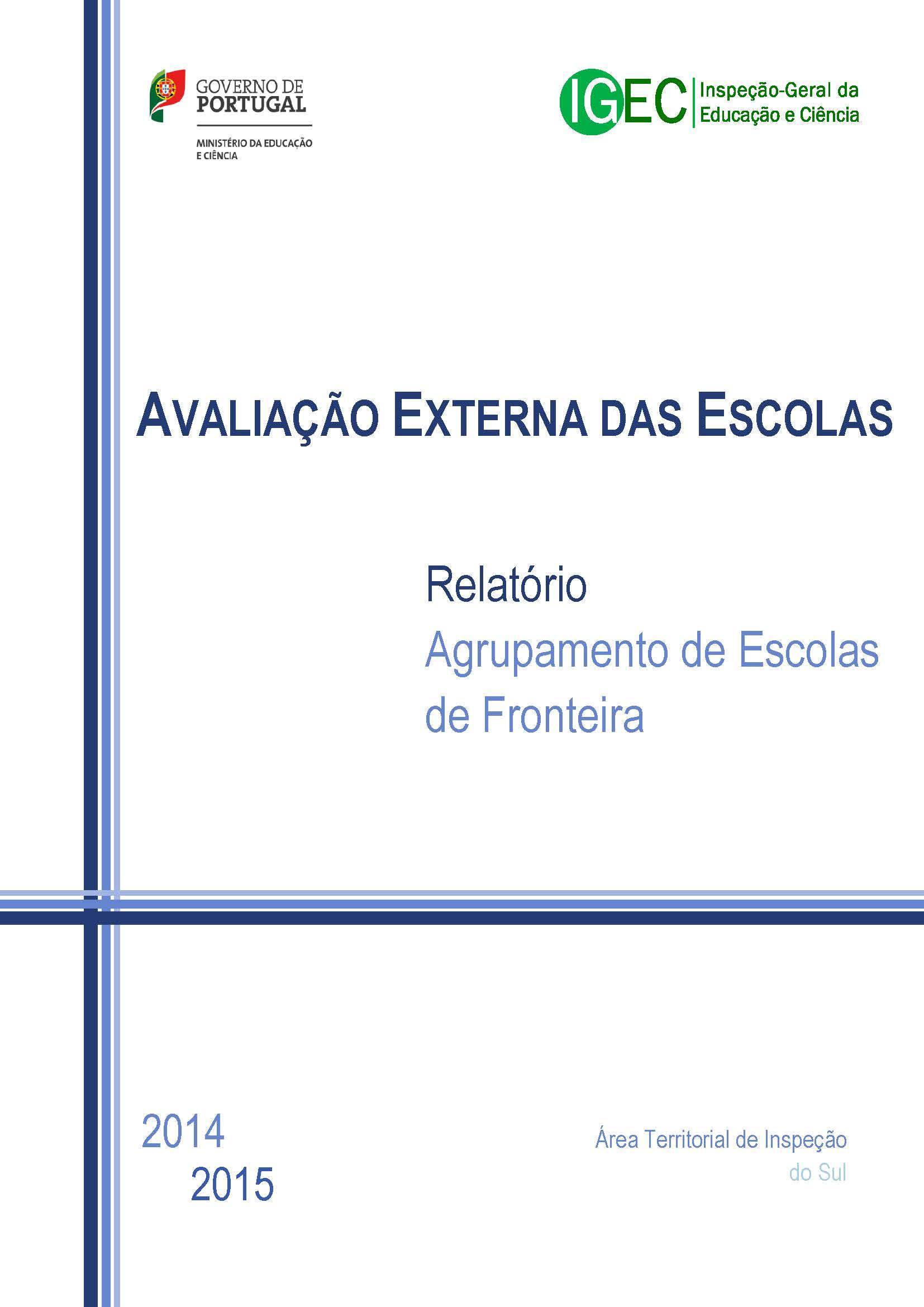 AVALIAÇÃO EXTERNA DAS ESCOLAS